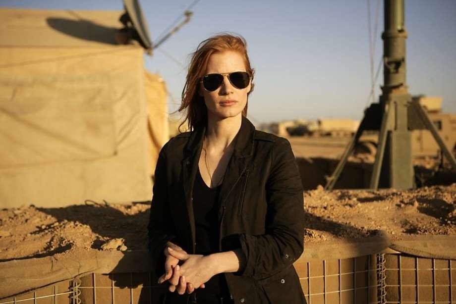 Jessica Chastain em 'A Hora Mais Escura' (Foto: Divulgação)
