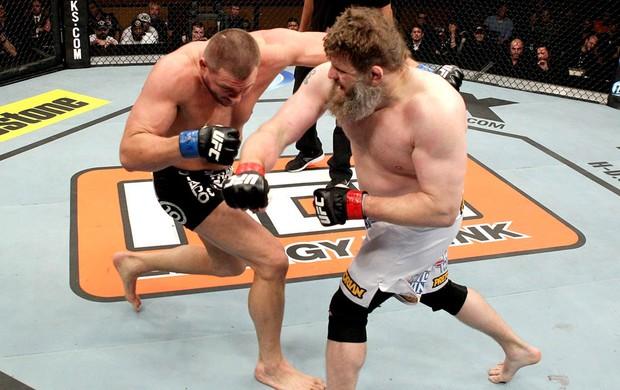 Matt Mitrione e Roy Nelson luta MMA (Foto: Reprodução / Facebook Oficial)