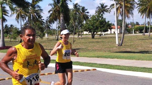 Corrida dos Quarentões ser[a realizada em Aracaju (Foto: Divulgação/ZonaAlvo)