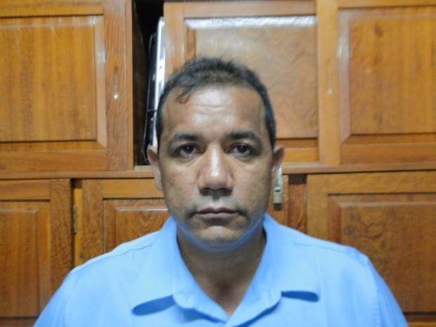Claudio Severino da Silva é suspeito de ter matado o taxista em Cacoal, com dois tiros na cabeça e foi preso em São Paulo. (Foto: Magda Oliveira/G1)