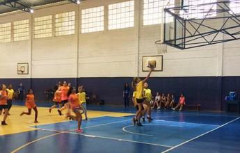 São José realiza festival de basquete feminino e atrai mais de 100 crianças