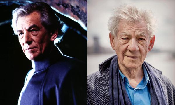 Ian McKellen em 2000 e atualmente (Foto: Divulgação)