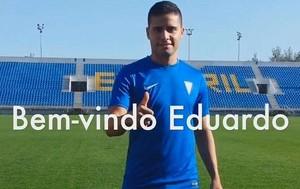 Eduardo Fluminense chega ao Estoril (Foto: Reprodução/Facebook)