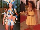 Ju Alves mostra foto aos 18 e revela: 'Meu sonho era ser porta-bandeira'