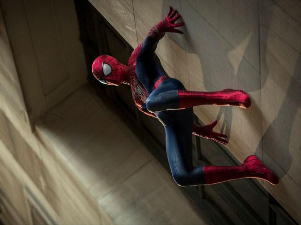 Andrew Garfield em 'O espetacular Homem-Aranha 2: A ameaça de Electro' (Foto: Divulgação)