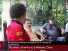 Líder das Farc e presidente colombiano se encontram em Cuba