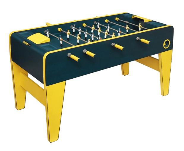 A mesa de pebolim Hermès (Foto: Divulgação)