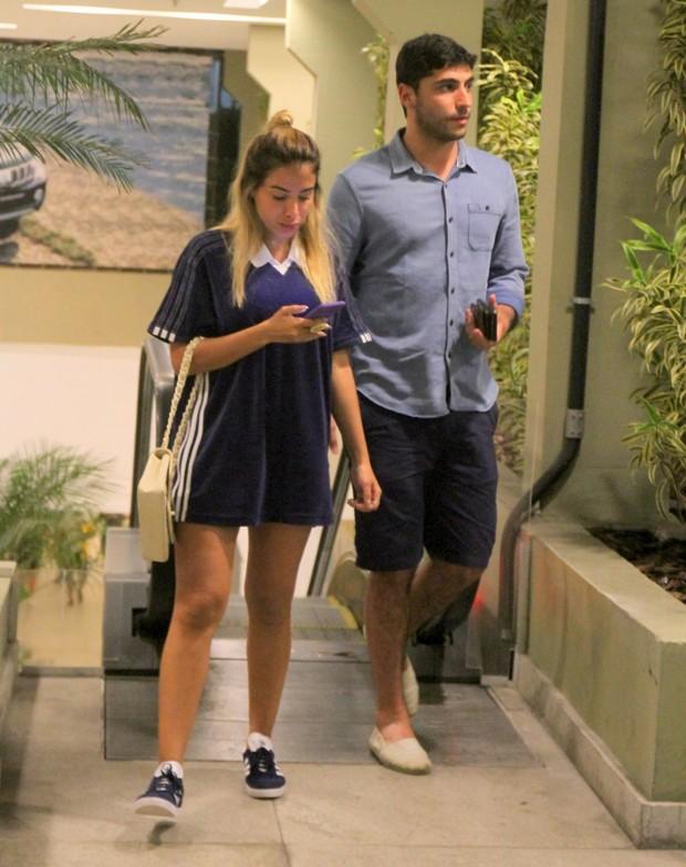 Anitta e Thiago Magalhães (Foto: Daniel Delmiro/AgNews)