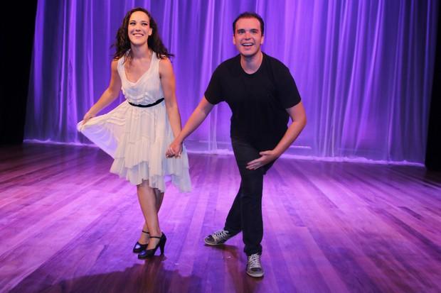 Adriana Birolli e Alexandre Contini (Foto: Thiago Duran/AgNews )