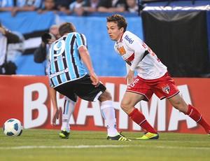 BLOG: São Paulo tem vantagem sobre Grêmio na Série A; Dagoberto é destaque do duelo