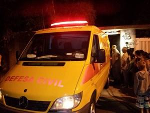 Irmãos foram encaminhados ao IML (Foto: Fabiana Lima/Inter TV)