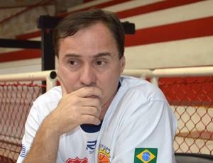Técnico Régis Marrelli São José Basquete (Foto: Danilo Sardinha/Globoesporte.com)