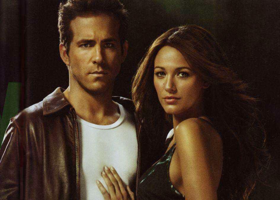 Um super-amor! Ryan Reynolds e Blake Lively formaram par em 'Lanterna Verde' (2011), começaram a namorar naquela época, se casaram no ano seguinte e estão unidos desde então. (Foto: Reprodução)