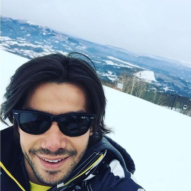Mariano em estação de esqui (Foto: Reprodução/Instagram)