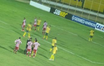 Goleiro do Estanciano ajuda, e CRB estreia com vitória no Nordestão
