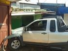 Carro desgovernado atinge postos de vendas de passagens em Santarém