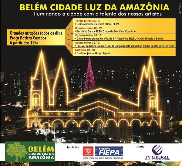Projeto Belém Cidade Luz da Amazônia (Foto: TV Liberal)