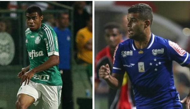 Palmeiras x Cruzeiro (Foto: Montagem/GE)