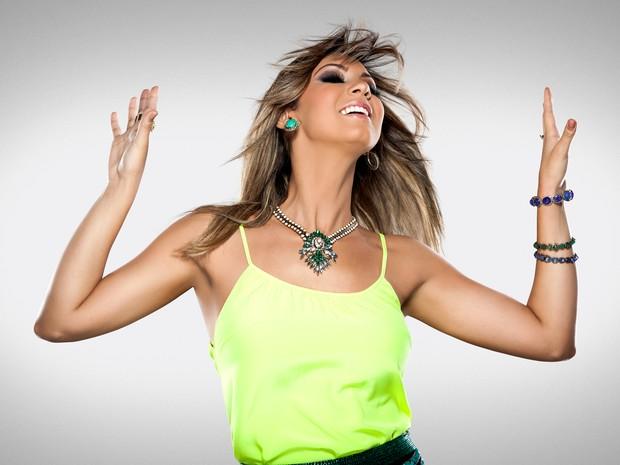 Vina Calmon, nova vocalista do 'Cheiro de Amor' (Foto:  Divulgação/Rafa Mattei)