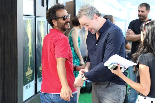Marcos Palmeira e Dan Stulbach (Foto: Roberto Filho/Ag BRazil News)