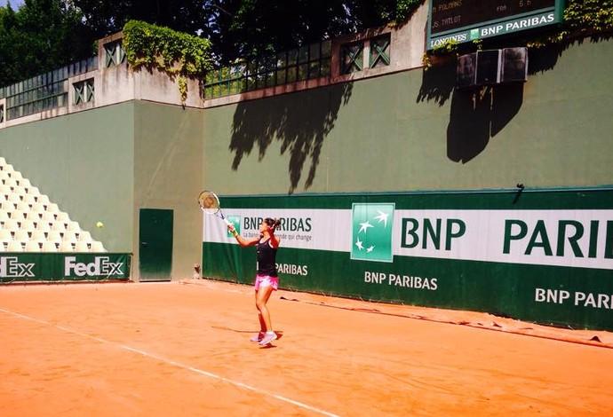 Teliana Pereira - Roland Garros (Foto: Reprodução/Facebook)