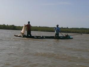 pescador (Foto: Marina Pereira/G1)