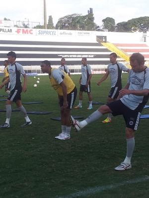 Jogadores do XV de Piracicaba treinam (Foto: Guto Marchiori/Globoesporte.com)