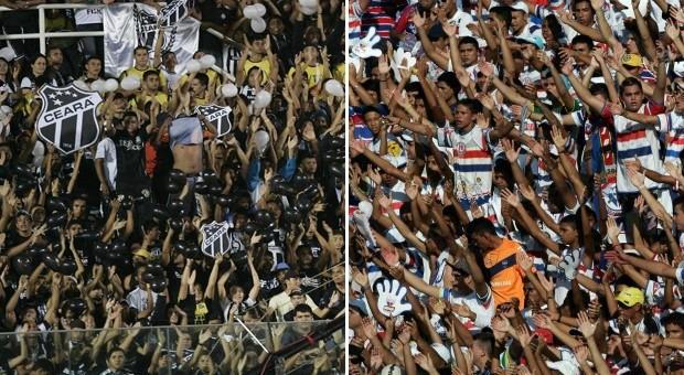 Justiça determina fim das maiores torcidas organizadas do Ceará e do Fortaleza (Foto: Globo Esporte)