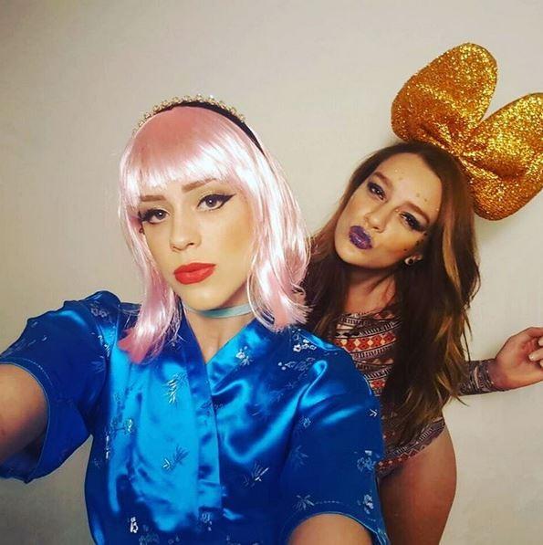 Sophia Abrahão e Mariana Molina (Foto: Instagram / Reprodução)