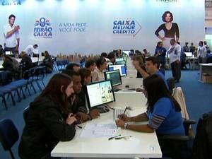 Feirão da Casa Própria (Foto: globo news)
