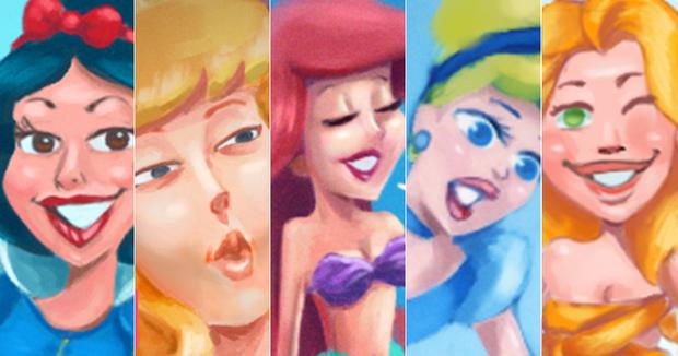 Princesas Disney (Foto: Ilustração: Enderson Santos / Ego)