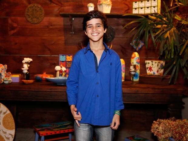 Adriano Alves mostrou seu charme em festa de Império (Foto: Ellen Soares / Gshow)