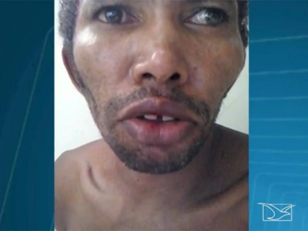Francisco Alves Costa, 48, abusou sexualmente das filhas por nove anos, em Caxias, no MA (Foto: Reprodução/ TV Mirante)