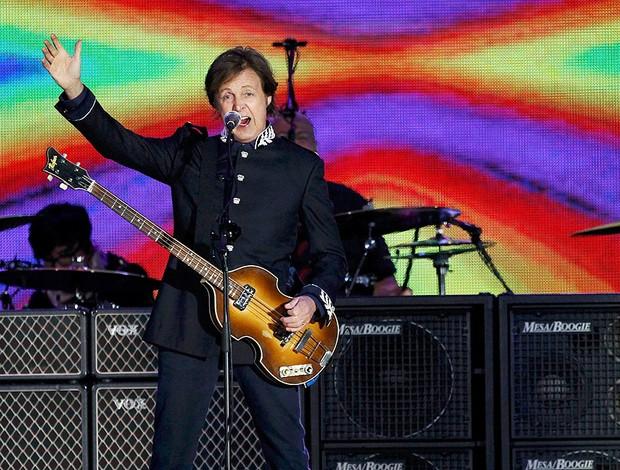 Paul McCartney show (Foto: Reuters)