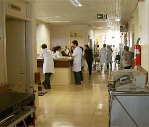 Hospital Mário Gatti suspendeu cirurgias eletivas após adesão de funcionários à greve (Foto: Reprodução EPTV)