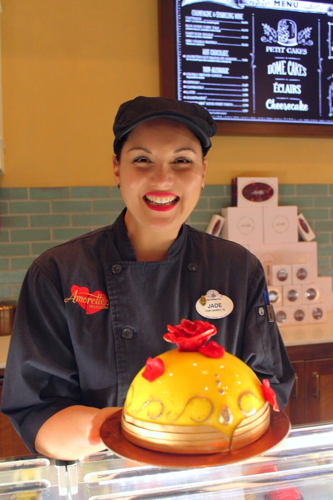 Jade Bowser - Chef de Patisserie da Amorette's