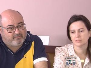 Pais de Allana Moraes não culpam motorista e o cantor pelo acidente (Foto: Reprodução/TV Anhanguera)