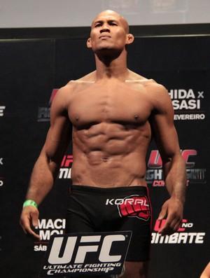 MMA - UFC Jaguará do Sul, Pesagem - Ronaldo Jacaré (Foto: Rodrigo Malinverni)