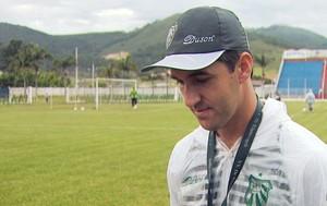 Léo Condé, técnico da Caldense (Foto: Reprodução EPTV)
