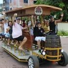 'Beerbike' circula a pedaladas em Iriri (Larissa Mezadre Pompermayer/ Beerbike)