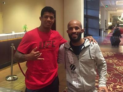 Adriano Moraes, Demetrious Johnson, peso-mosca, MMA (Foto: Arquivo pessoal)