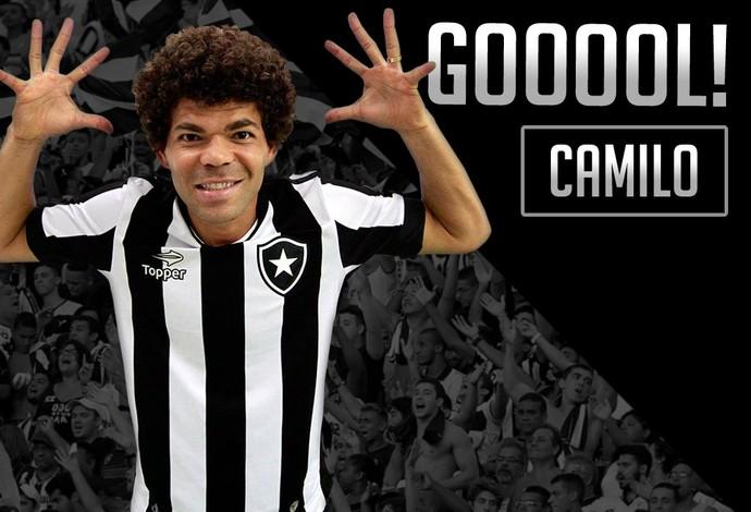Camilo, Botafogo (Foto: Divulgação / Botafogo)