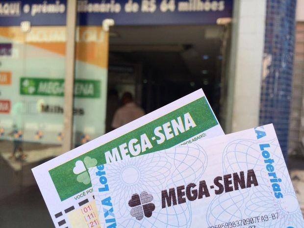 Mega-Sena acumula e vai pagar R$ 110 milhões  (Foto: Tasssio Andrade/G1)