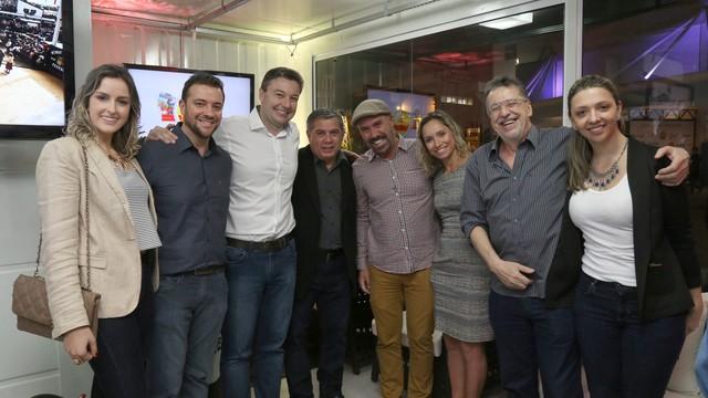 Evento ocorreu no estúdio especial da Oktoberfest  (Foto: RBS TV/Divulgação)