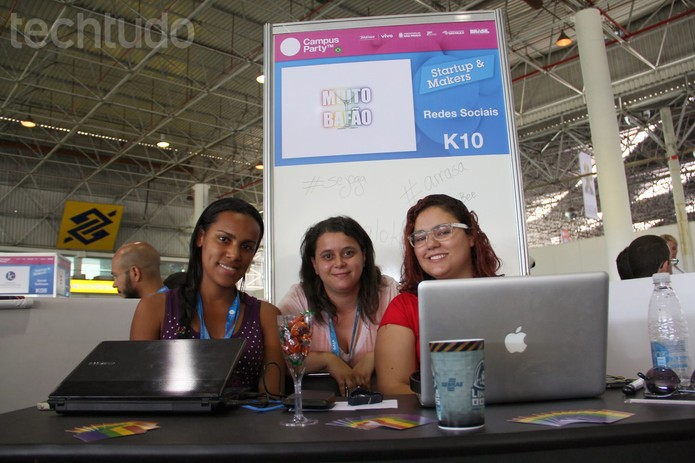 A turma da rede social GLBT Muito Bafão é de Itatjubá, Minas Gerais (Foto: TechTudo/Melissa Cruz)