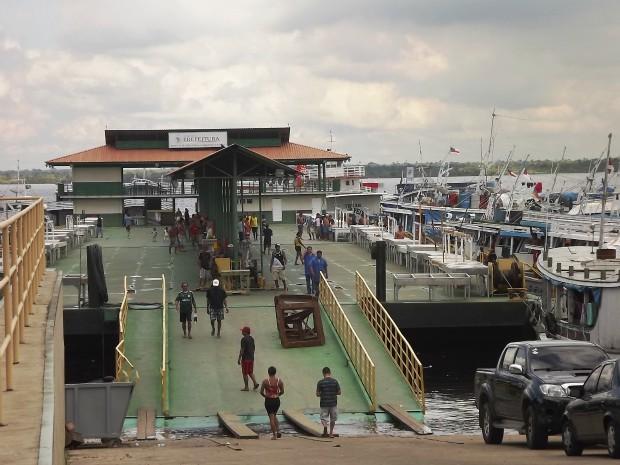 Terminal de Manaus (Foto: Divulgação/Fepesca)