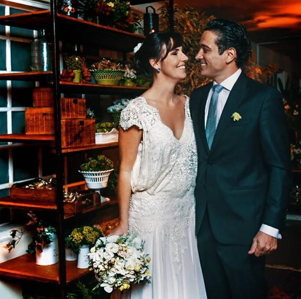 Glenda Kozlovski e Luis Tepedino (Foto: Reprodução/Instagram)