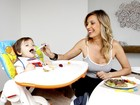 Luisa Mell fala sobre alimentação vegana do filho: 'Ele é supersaudável'