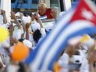 Papa Bento XVI se reúne com Raúl Castro em Havana