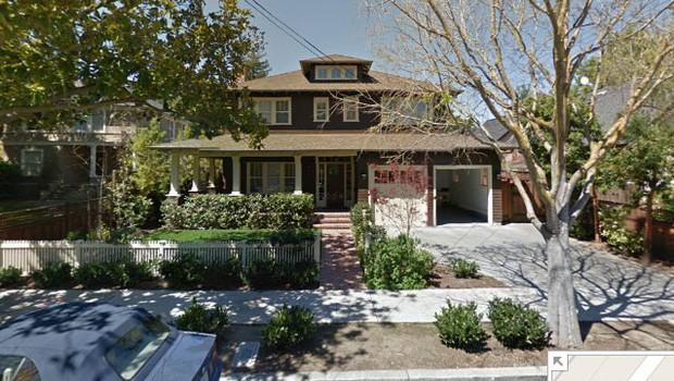 Mansão de Marissa Mayer (Foto: Reprodução Google Street View )